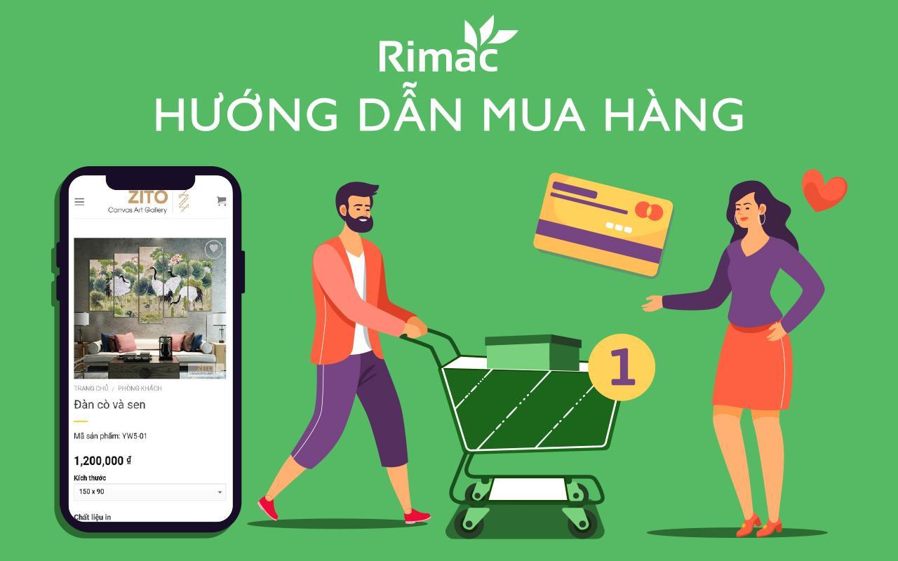 Hướng dẫn mua hàng tại Rimac