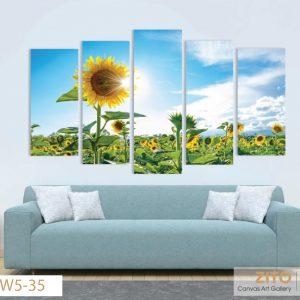 Trang canvas Hoa dướng dương