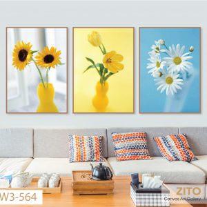 tranh canvas hoa