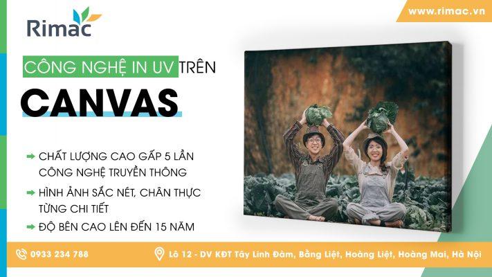 Dịch vụ in UV Canvas giá rẻ, chất lượng cao