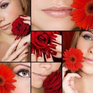 Tranh spa hoa và sắc đẹp